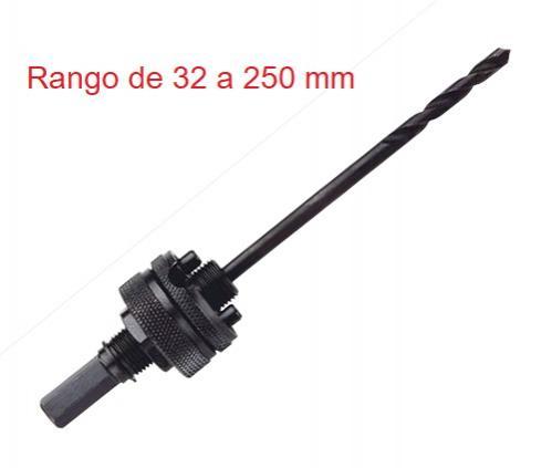 Husillo para Coronas Serie Larga  Rango 32-250 mm.
