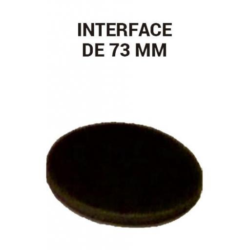 Interface de 73 mm.