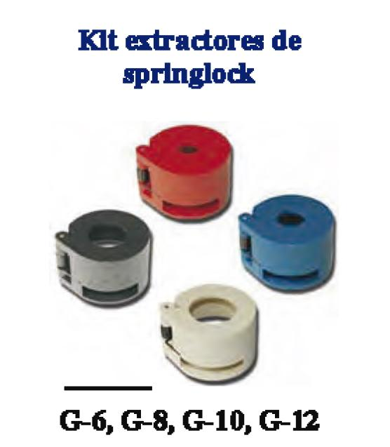 Kit Extractores de Springlock  4 Piezas.