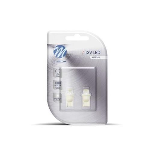 Lámpara LED W5W 12V cóncavo Blanco (Blister 2 unidades) [1]