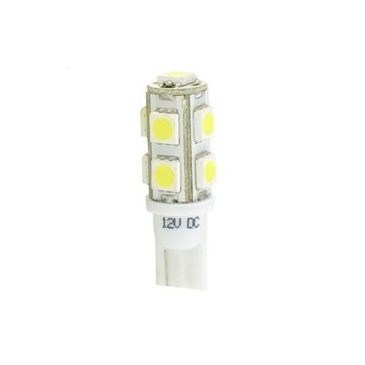 Lámpara LED W5W 12V 9xSMD5050  Blanco  (Blister 2 unidades)