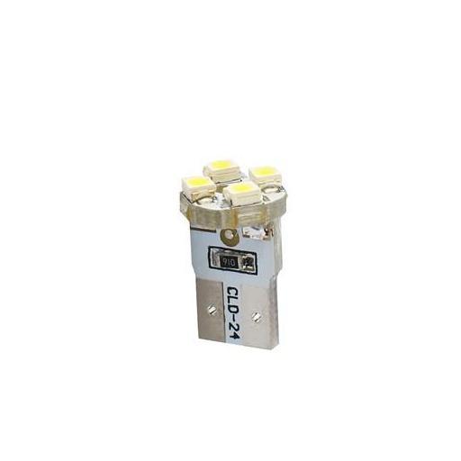 Lámpara LED W5W 12V 4xSMD3528  Blanco  (Blister 2 unidades)