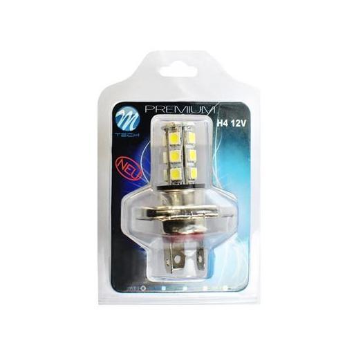 Lámpara LED H4 PREMIUM 12V 18xSMD5050  Blanco [1]