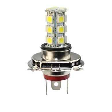 Lámpara LED H4 PREMIUM 12V 18xSMD5050  Blanco
