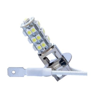 Lámpara LED H3 PREMIUM 12V 25xSMD3528  Blanco