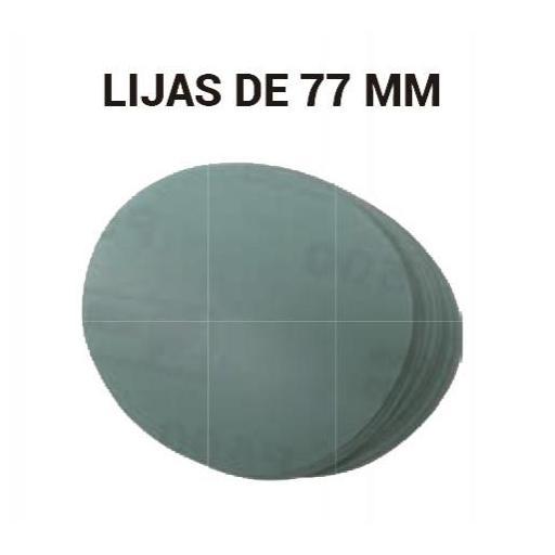 Disco de Lija 77 mm. (100 unidades) [1]