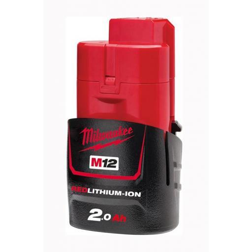 Batería MILWAUKEE M12 REDLITHIUM-ION™ 2.0Ah