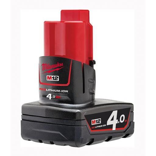 Batería MILWAUKEE M12 REDLITHIUM-ION™ 4.0Ah