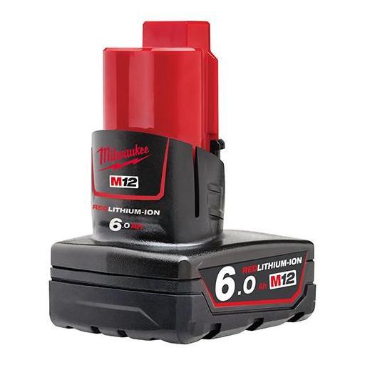 Batería MILWAUKEE M12 REDLITHIUM-ION™ 6.0Ah