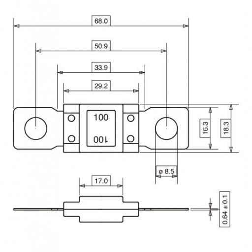 Fusible Mega (5 Unidades) [1]