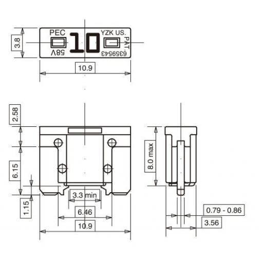 Fusible Micro 1 (10 Unidades) [1]