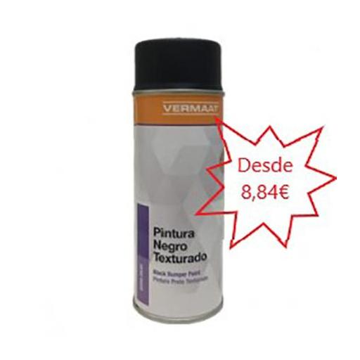 Pintura Negro Texturado en Spray  400ml. [0]