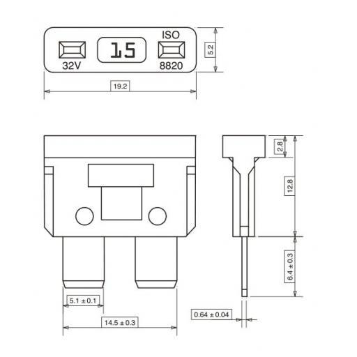 Fusible Standart  (25 Unidades) [1]