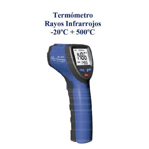 Termómetro Rayos Infrarrojos -20ºC  +500ºC