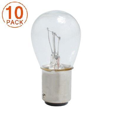 Lámpara M-Tech 2 Polos 12V 21/5W BAY15d  (10 unidades)
