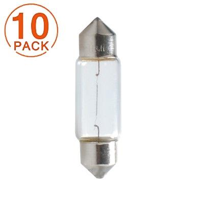 Lámpara  Plafonier C5W 12V/5W  T11x36  SV8.5-8  M-Tech (10 unidades)