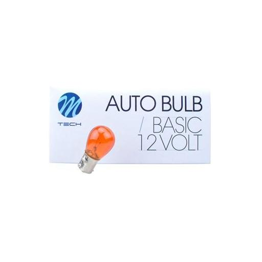 Lámpara 1 Polo 12V 21W PY21W AMBAR BAU15s  M-Tech  (10 unidades) [3]