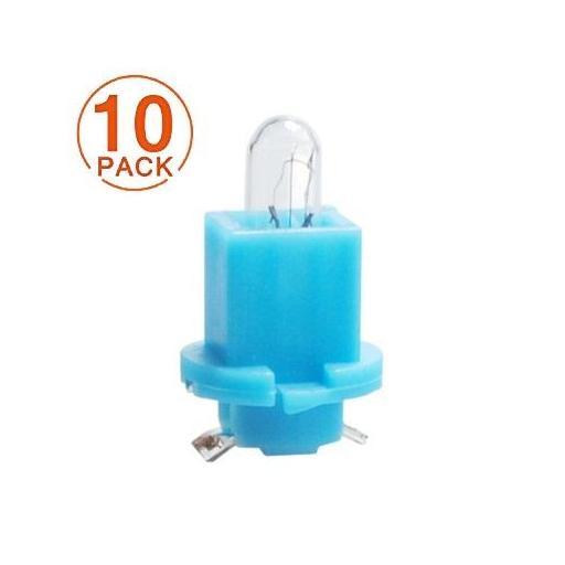 Lámpara BAX 12V/1.2W ESBR VERDE M-Tech  (10 unidades)