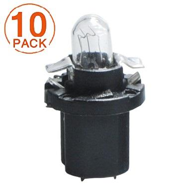 Lámpara BAX 12V/1.2W B8.5d NEGRA M-Tech (10 unidades)