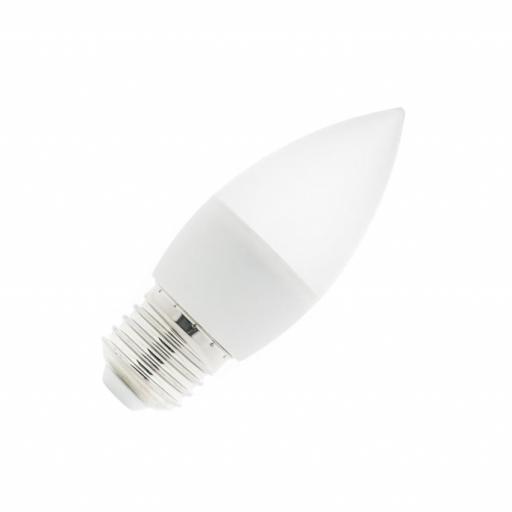 Bombilla LED E27 C37 5W  400 lumens