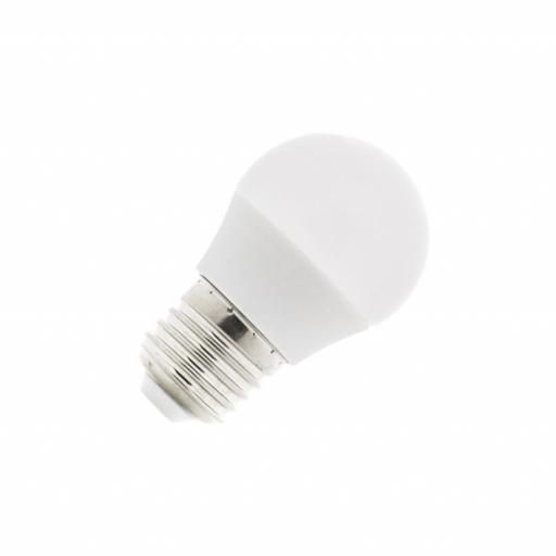 Bombilla LED E27 G45 5W  400 lumens