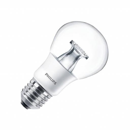 Bombilla LED E27 A60 Philips Master DT 6W  470 lumens