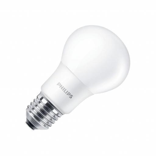 Bombilla LED E27 A60 Philips CorePro CLA 8W  806 lumens