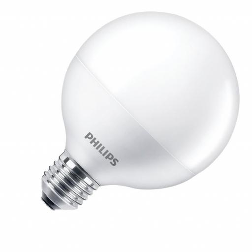 Bombilla LED E27 G93 Philips 9.5W  806 lumens
