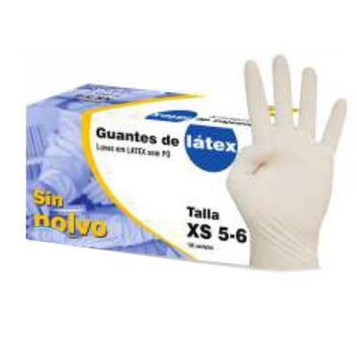 Guantes de Latex sin Polvo (100 unidades)