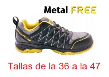 Calzado Deportivo de Seguridad GYSHU1502N  GoodYear