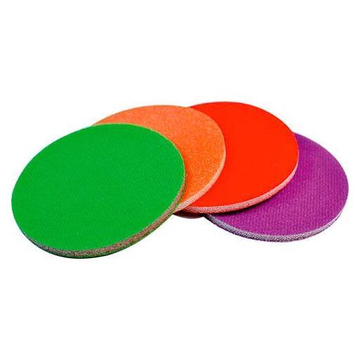 Discos de Lija con Esponja Ø 77 mm. (25 unidades)