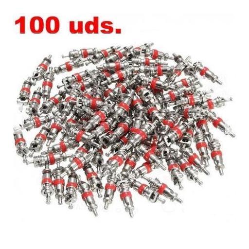 Caja de 100 Obuses de Válvula. [1]
