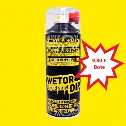 Vinilo Liquido AMARILLO MATE Removible en Spray  400 ml.