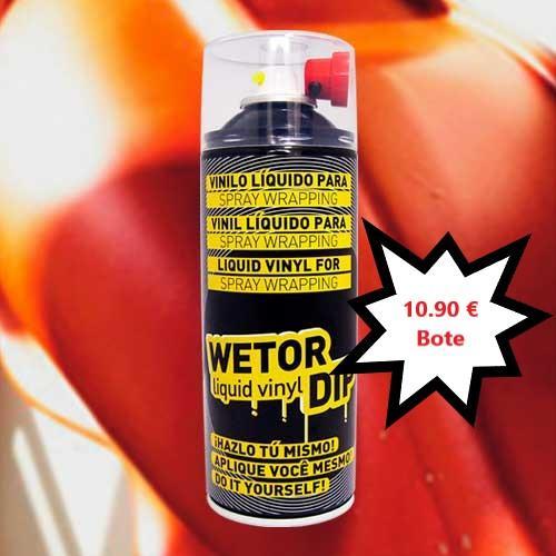 Vinilo Liquido CAMALEON Removible en Spray  400 ml.