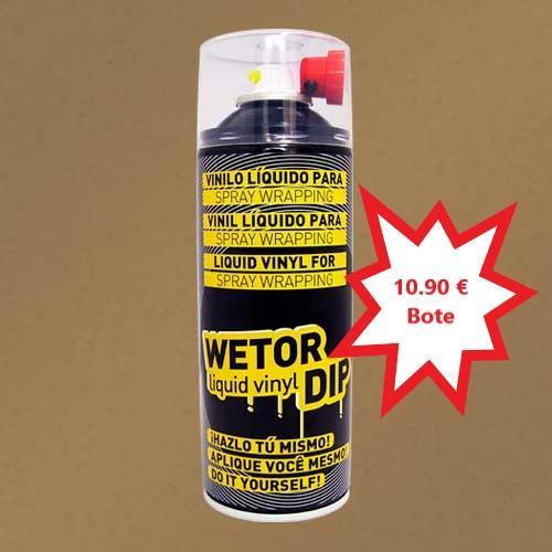 Vinilo Liquido BEIGE MILITAR Removible en Spray  400 ml.
