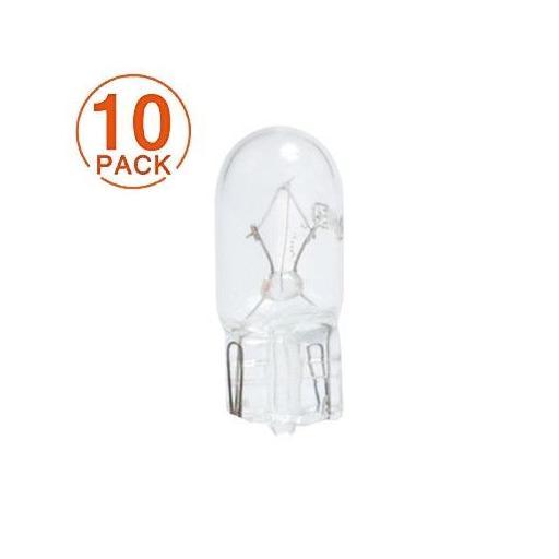 Lámpara M-Tech 12V 5W  T10-W5W  W2.1x9.5d  (10 unidades)