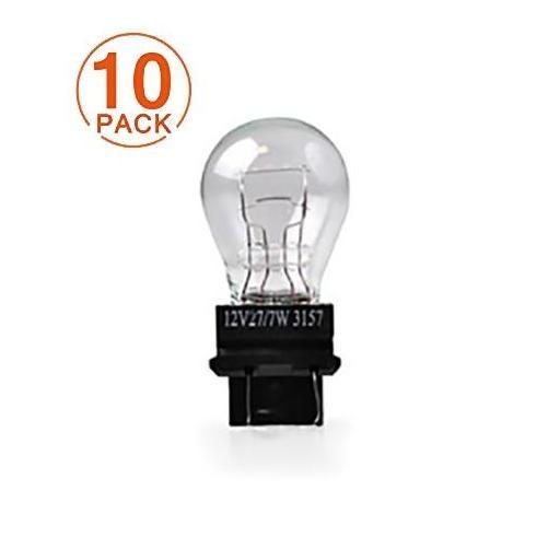 Lámpara M-Tech 12V P27/7W W2.5x16q - 3157 (10 Unidades)