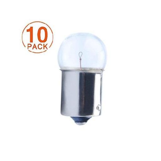 Lámpara Piloto G18 12V 5W BA15s  M-Tech (10 unidades)