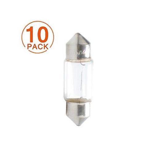 Lámpara M-Tech Plafonier 12V 5W C5W T11x31 SV8.5-8 (10 unidades)