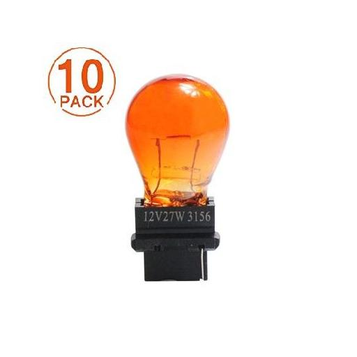 Lámpara 3156 12V/27W AMBAR M-Tech (10 unidades)