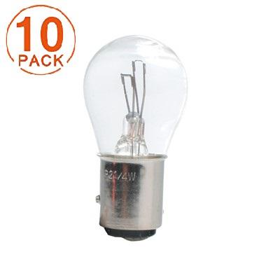 Lámpara M-Tech 2 Polos 12V 21/4W BAZ15d  (10 unidades)