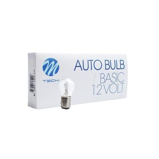 Lámpara M-Tech 2 Polos 12V 21/4W BAZ15d  (10 unidades) [1]