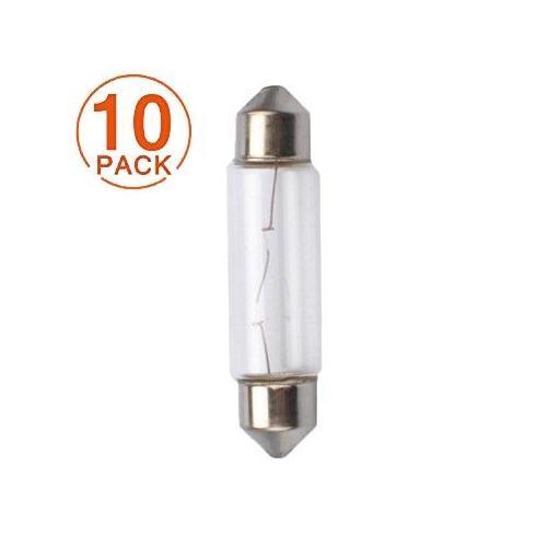 Lámpara C10W 12V/10W SV8.5-8 T11x41 M-Tech (10 unidades)