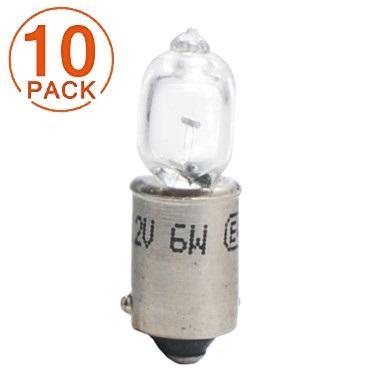 Lámpara Halógena 12V 6W H6W BAX9S  M-Tech