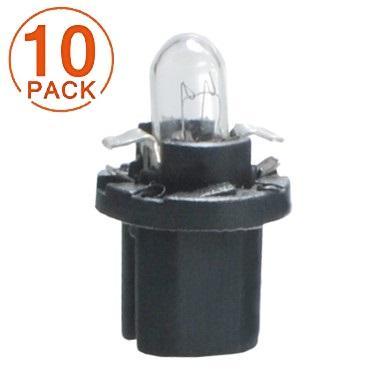 Lámpara BAX 12V/1.2W B8.3d NEGRA M-Tech (10 unidades)