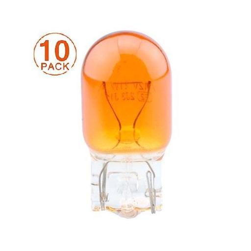 Lámpara T20 12V/21W WY21W WX3x16d AMBER  M-Tech (10 unidades)