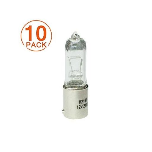 Lámpara M-Tech H21W 12V/21W BAY9s CLEAR (10 Unidades)