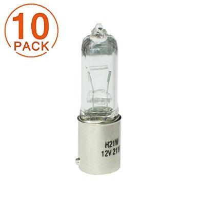 Lámpara M-Tech H21W 24V 21W BAY9s CLEAR (10 Unidades)