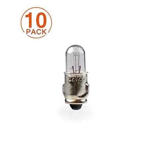 Lámpara M-Tech T6.5 12V/2W BA7s  (10 Unidades)