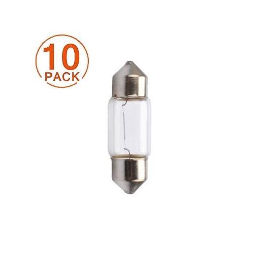 Lámpara M-Tech C10W 24V/10W T11x31 SV8.5-8 (10 Unidades)